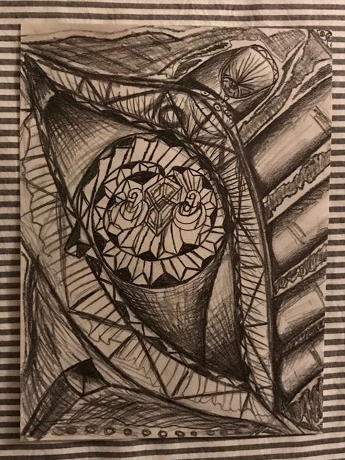 Art: Mindful~EYE. by Artist William Powell Brukner