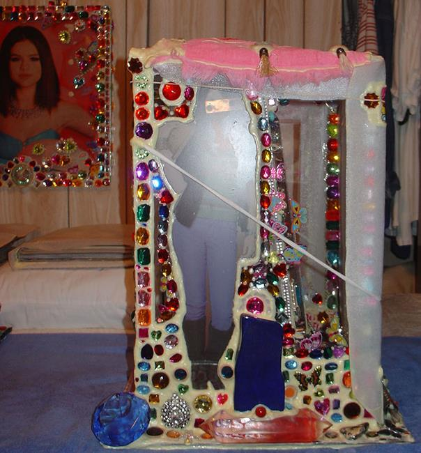 Art: Perfect Sexy Selena Gorgeous Gomez Jeweled ART Box 5. by Artist William Powell Brukner