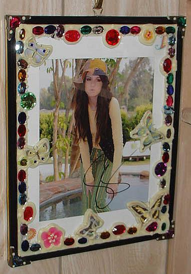 Art: Selena Gomez. by Artist William Powell Brukner