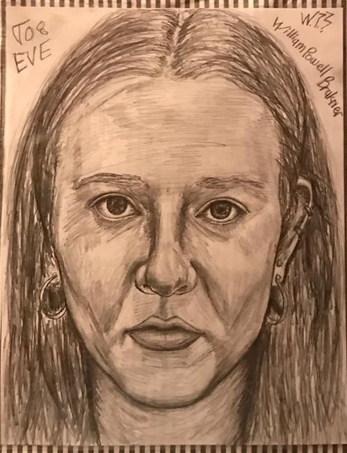 Art: EVE. by Artist William Powell Brukner