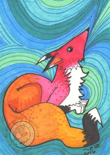 Art: Lines by Artist Emily J White