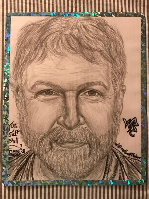 Art: Jeff. by Artist William Powell Brukner