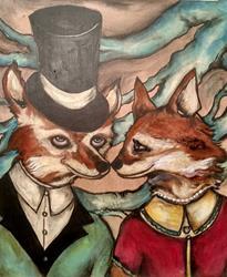Art: Nose to Nose by Artist Chris Jeanguenat