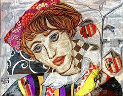 Art: Egon's Girl by Artist Alma Lee