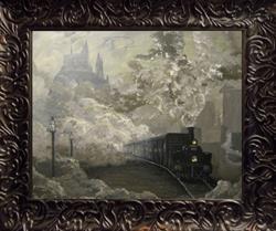 Art: 146 Hogwarts Express8x10 by Artist J A Blackwell
