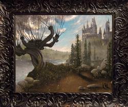 Art: 132 Hogwarts Second Year8x10 by Artist J A Blackwell