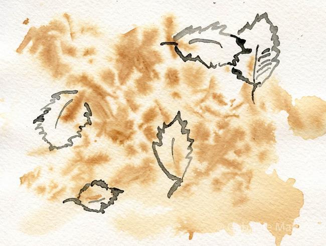 Art: The Leaves by Artist Gabriele M.