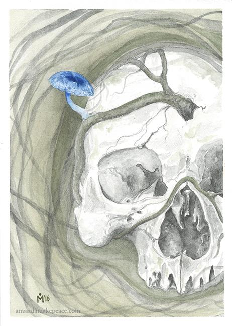 Art: Life in Death by Artist Amanda Makepeace