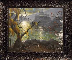 Art: 134 Hogwarts Fourth Year, October8x10 by Artist J A Blackwell