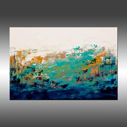 Art: Blue Lake 6 by Artist Hilary Winfield