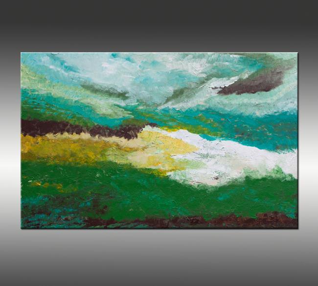Art: Coastal Viewpoint by Artist Hilary Winfield