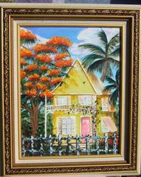 Art: Key West House by Artist Ke Robinson