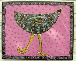 Art: Keep Moving On by Artist Cindy Bontempo (GOSHRIN)