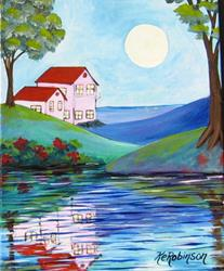 Art: Water Views by Artist Ke Robinson