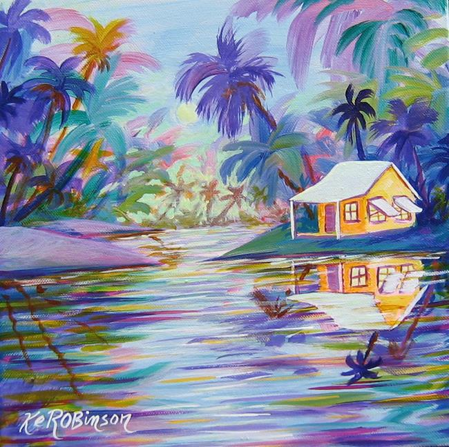 Art: Paradise Bay SD  -SOLD by Artist Ke Robinson