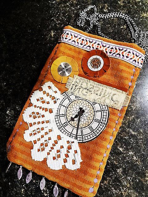Art: Steampunk Purse 6 by Artist Vicky Helms