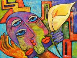 Art: Lover Boy - Monsieur Lenoir by Artist Ke Robinson