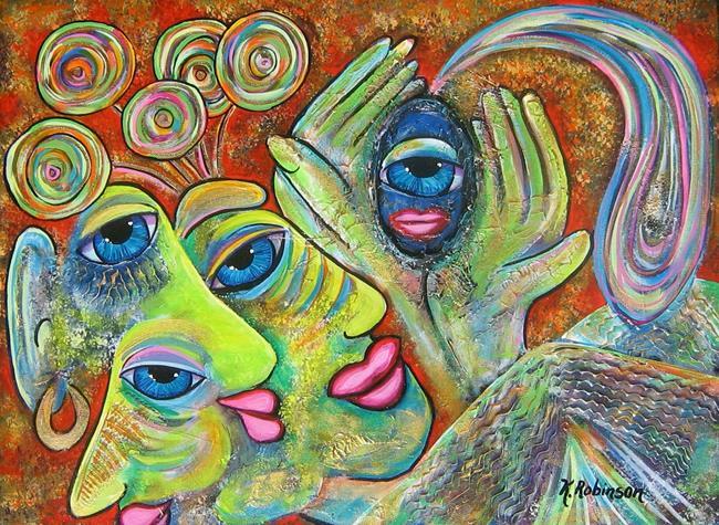 Art: The Seer by Artist Ke Robinson