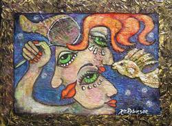 Art: Here Fishy Fishy! - sold by Artist Ke Robinson