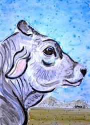Art: Feeling Grey by Artist Melinda Dalke