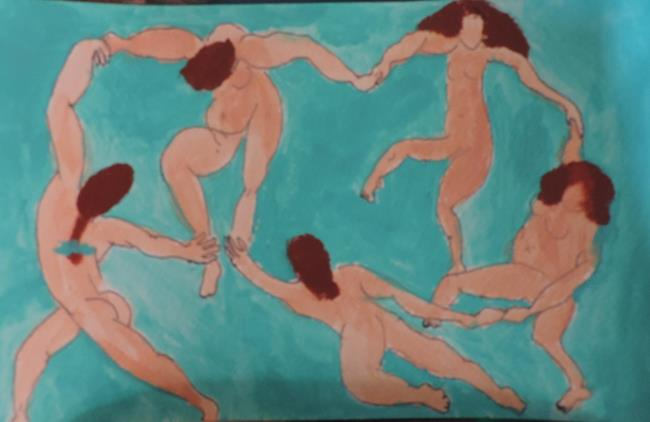 Art: redheads dance 2 by Artist Nancy Denommee