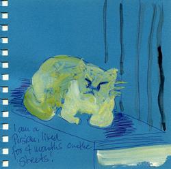 Art: Aquacats 07 by Artist Gabriele M.