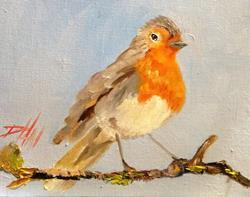 Art: Robin by Artist Delilah Smith