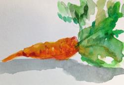 Art: Carrot by Artist Delilah Smith