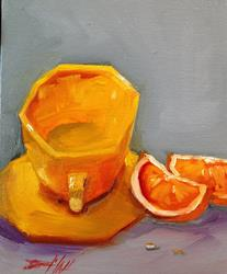 Art: Yellow Cup by Artist Delilah Smith