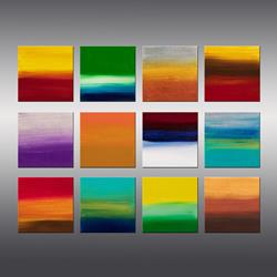 Art: Sunrise Series Collection 5 by Artist Hilary Winfield