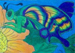 Art: Lady Flutterby by Artist TheClassyCanvas by D. Lars