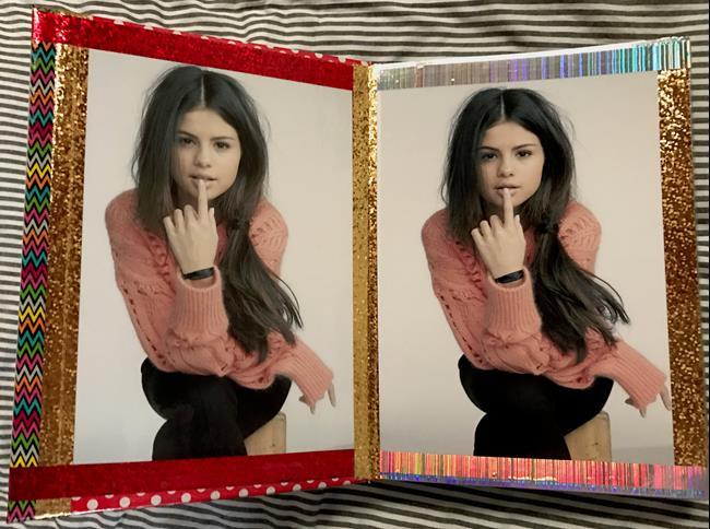 Art: Selena Gomez of Art Book!! by Artist William Powell Brukner