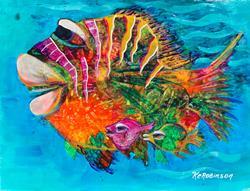 Art: Caribbean Fish #1636 by Artist Ke Robinson
