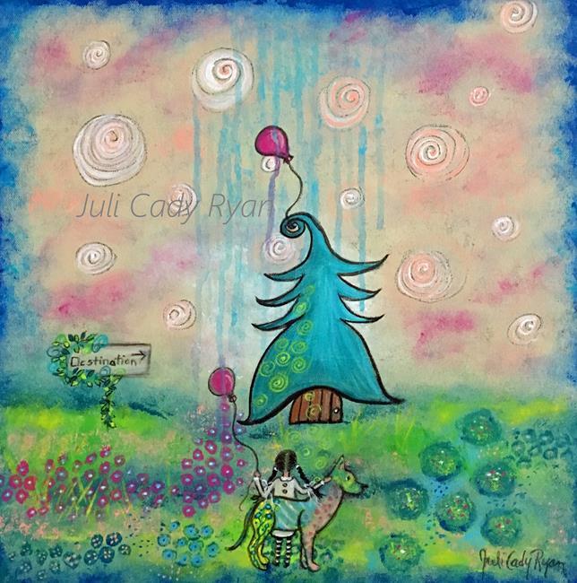 Art: The Destination II by Artist Juli Cady Ryan