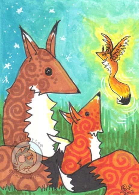 Art: Magic Story by Artist Emily J White