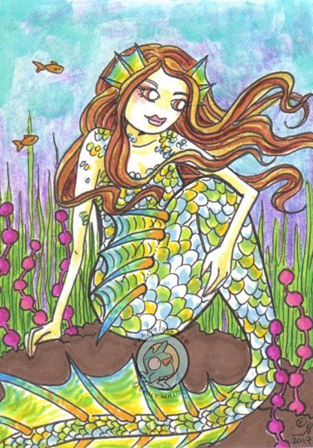 Art: Opal by Artist Emily J White