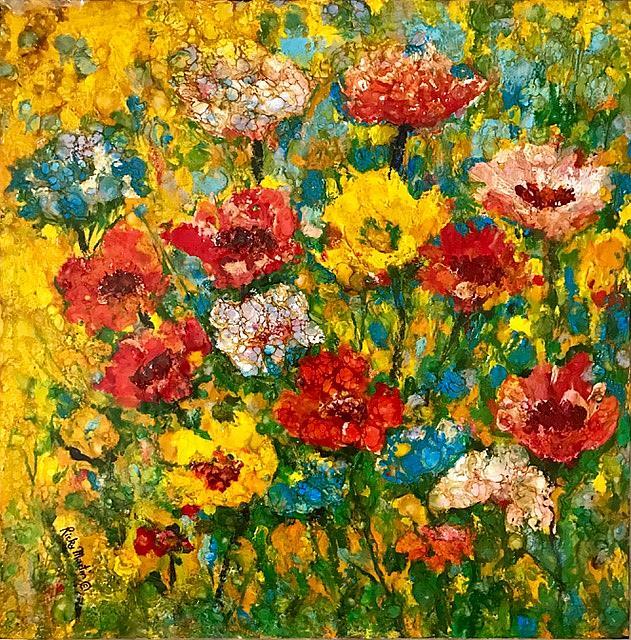 Art: In Full Bloom  - sold by Artist Ulrike 'Ricky' Martin