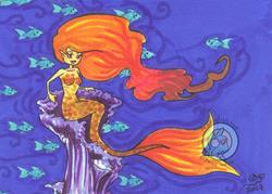 Art: Amethyst Throne by Artist Emily J White