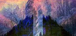 Art: Summer Beneath the Ice by Artist Carolyn Schiffhouer