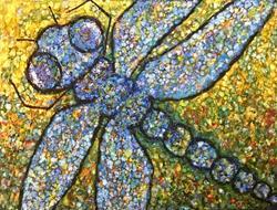 Art: Dragonfly by Artist Ulrike 'Ricky' Martin