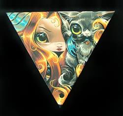 Art: Cats Eyes by Artist Nico Niemi