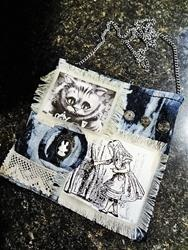 Art: Steampunk Purse #16 Front (SOLD) by Artist Vicky Helms