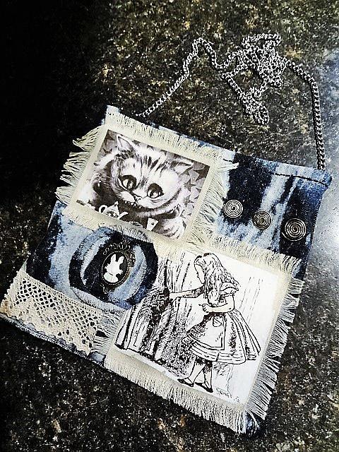 Art: Steampunk Purse #16 (SOLD) by Artist Vicky Helms