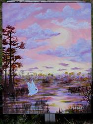 Art: Sunrise Glades KeROBinson by Artist Ke Robinson