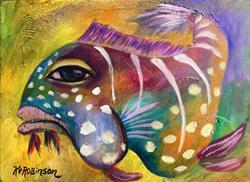 Art: 1648 Reef Fish by Artist Ke Robinson