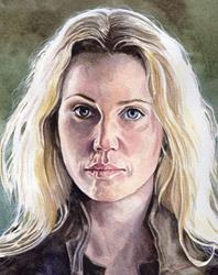 Art: Saga (Sofia Helin) by Artist Mark Satchwill