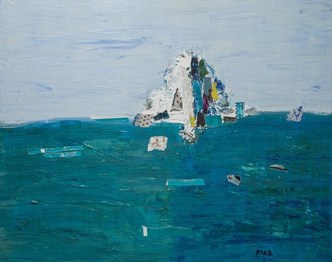 Art: Iceberg I by Artist Gabriele Maurus