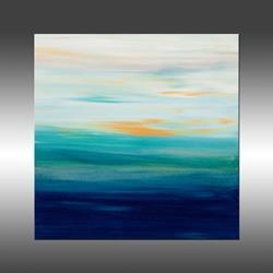 Art: Sunset 52 by Artist Hilary Winfield