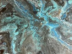 Art: Melting Ice by Artist Ulrike 'Ricky' Martin