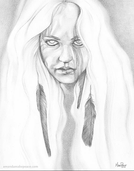 Art: Raven Sight by Artist Amanda Makepeace